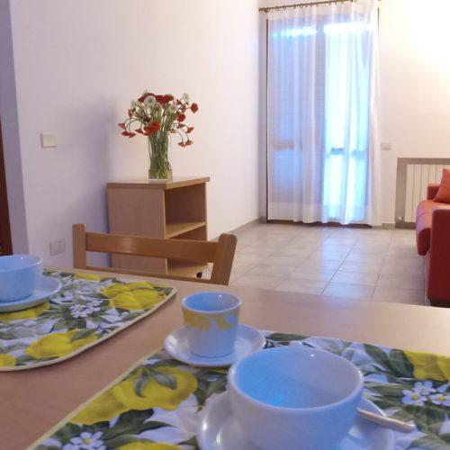 Casa Vacanze Toscana - Appartamento Borgo 2 - Living | Corso 15 Case Vacanza