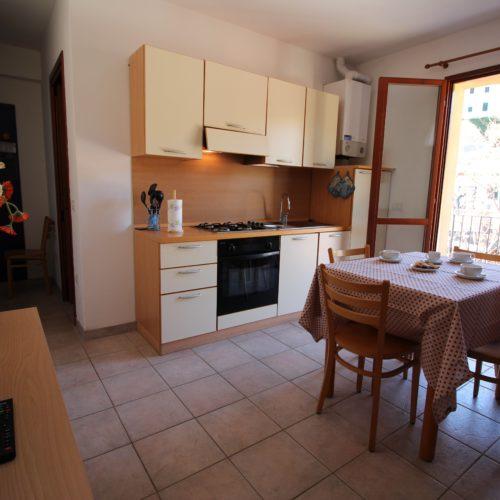 Casa Vacanze Toscana - Appartamento Borgo 3 - Living & Cucina | Corso 15 Case Vacanza