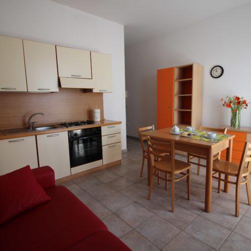 Casa Vacanze Toscana - Appartamento Piazza 1 - Living & Cucina | Corso 15 Case Vacanza