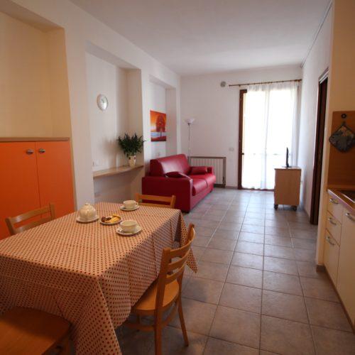 Casa Vacanze Toscana - Appartamento Borgo 1 - Living | Corso 15 Case Vacanza