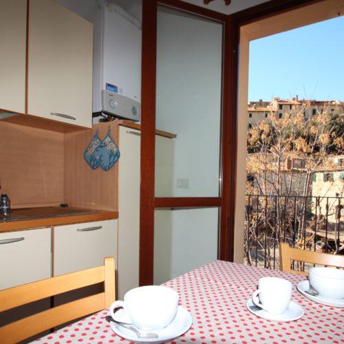 Casa Vacanze Toscana - Appartamento Borgo 3 - Living | Corso 15 Case Vacanza