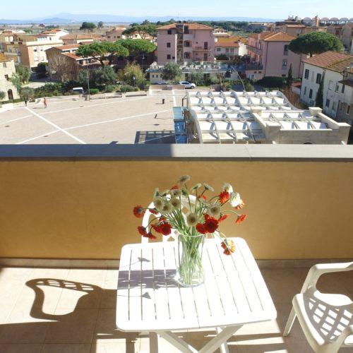 Casa Vacanze Toscana - Appartamento Piazza 3 - Terrazzo | Corso 15 Case Vacanza