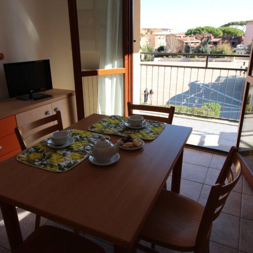 Casa Vacanze Toscana - Appartamento Piazza 1 - Living | Corso 15 Case Vacanza