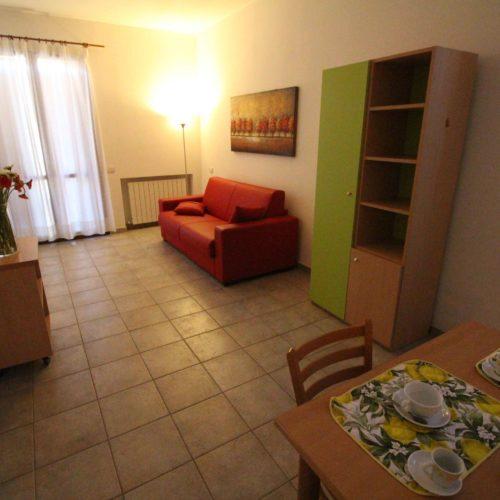 Casa Vacanze Toscana - Appartamento Borgo 2 - Living & Cucina | Corso 15 Case Vacanza