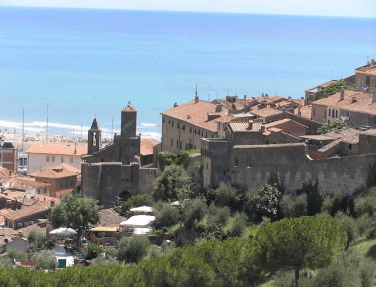 Casa Vacanze Toscana - Castiglione della Pescaia tra mare, arte e storia foto di Marco Ramerini| CORSO 15 CASE VACANZA